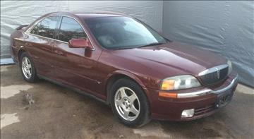 2001 Lincoln LS for sale at Whitts Auto Sales in Houston TX