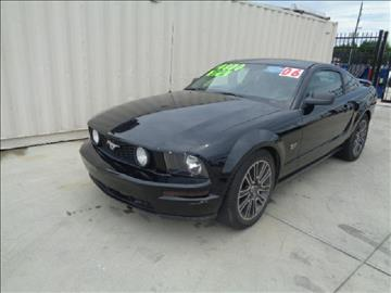2006 Ford Mustang for sale at Whitts Auto Sales in Houston TX