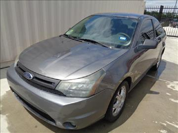 2010 Ford Focus for sale at Whitts Auto Sales in Houston TX