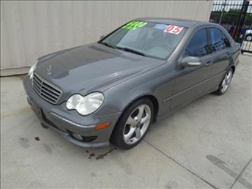 2005 Mercedes-Benz C-Class for sale at Whitts Auto Sales in Houston TX