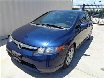 2006 Honda Civic for sale at Whitts Auto Sales in Houston TX