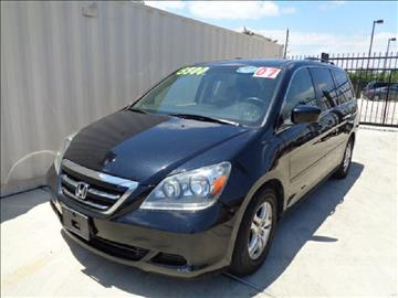 2007 Honda Odyssey for sale at Whitts Auto Sales in Houston TX