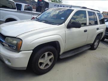2002 Chevrolet TrailBlazer for sale at Whitts Auto Sales in Houston TX