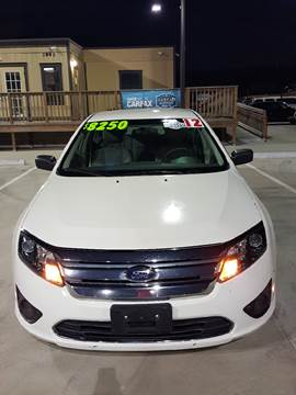 2012 Ford Fusion for sale at Whitts Auto Sales in Houston TX