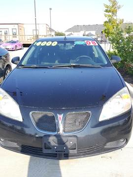 2008 Pontiac G6 for sale at Whitts Auto Sales in Houston TX