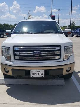 2013 Ford F-150 for sale at Whitts Auto Sales in Houston TX