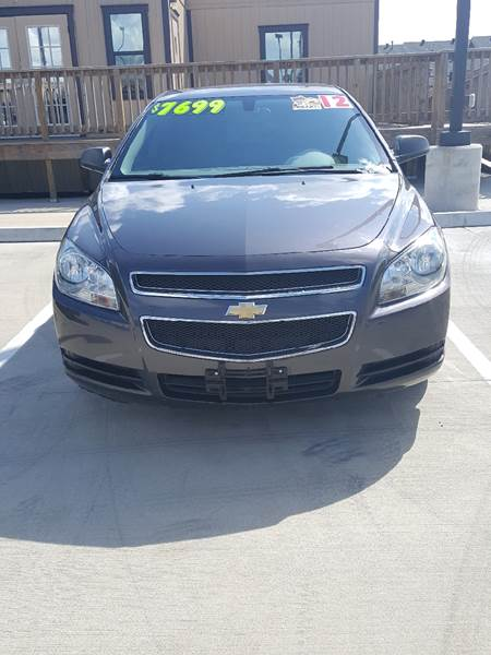 2012 Chevrolet Malibu for sale at Whitts Auto Sales in Houston TX