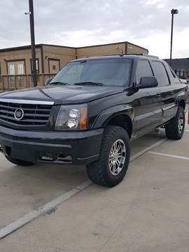 2002 Cadillac Escalade EXT for sale at Whitts Auto Sales in Houston TX