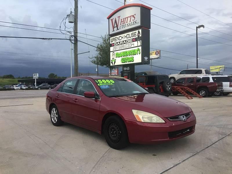 Whitt S Auto Sales Llc