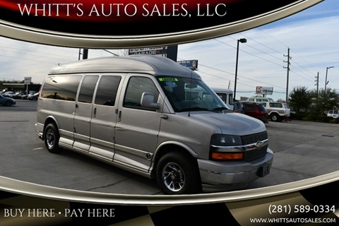 2007 Chevrolet Express Cargo for sale in Houston, TX
