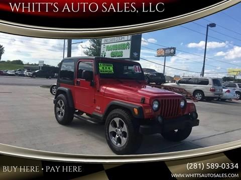 2006 Jeep Wrangler for sale in Houston, TX