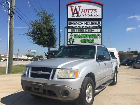 2001 Ford Explorer Sport Trac for sale in Houston, TX