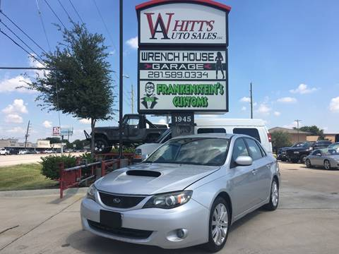 Used Subaru Impreza Hatchback >> 2008 Subaru Impreza For Sale In Houston Tx