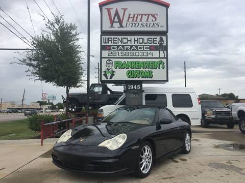 2002 Porsche 911 for sale in Houston, TX