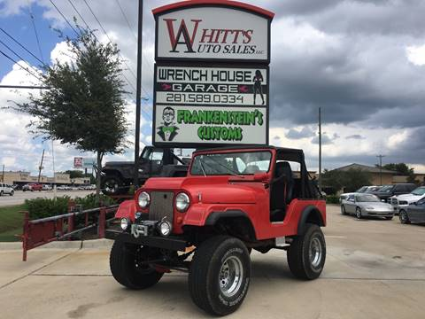 1966 Jeep Wrangler for sale in Houston, TX