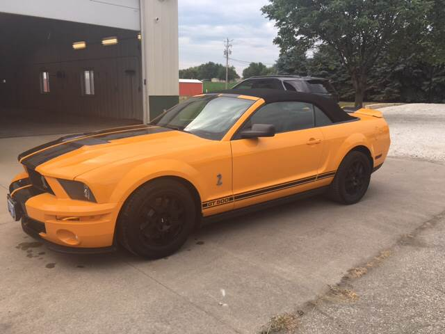 2008 Ford Shelby GT500 for sale at New Way Auto in Jefferson IA