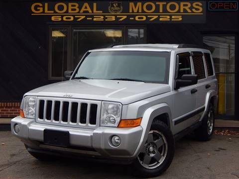 used 2006 jeep commander for sale in new york. Black Bedroom Furniture Sets. Home Design Ideas