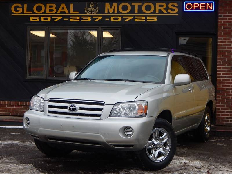 Toyota Highlander In Binghamton NY GLOBAL MOTORS - 2004 highlander