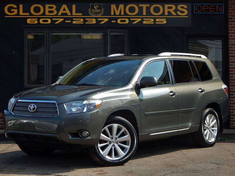 2008 Toyota Highlander Hybrid For Sale At GLOBAL MOTORS In Binghamton NY