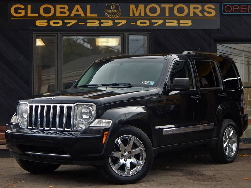 2008 Jeep Liberty For Sale At GLOBAL MOTORS In Binghamton NY