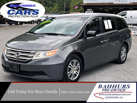 2012 Honda Odyssey for sale in Lexington, VA