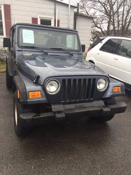 2002 Jeep Wrangler for sale in Ashland City, TN