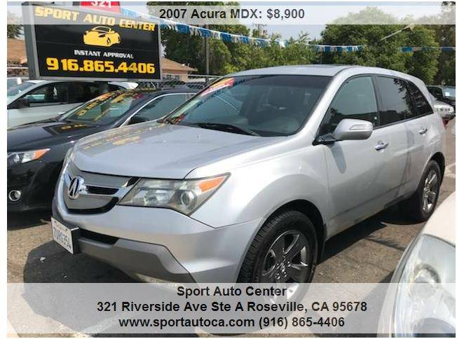 Acura Mdx SHAWD Dr SUV WSport And Entertainment Package In - 2007 acura mdx sport shocks