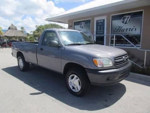 2002 Toyota Tundra for sale in Stuart, FL