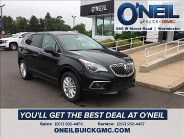 2017 Buick Envision for sale in Warminster, PA