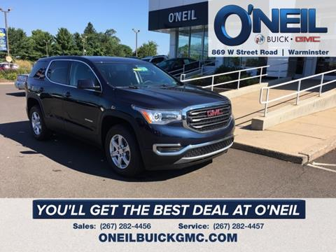 2017 GMC Acadia for sale in Warminster, PA