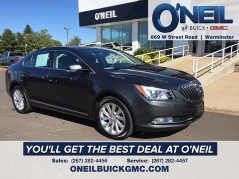 2016 Buick LaCrosse for sale in Warminster, PA