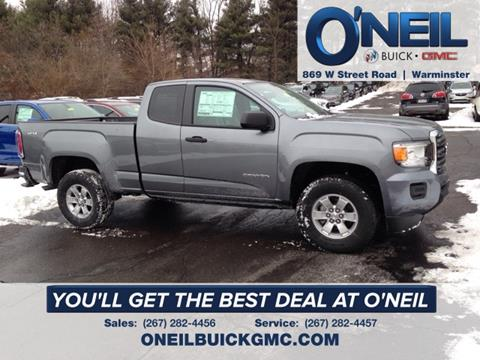 2018 GMC Canyon for sale in Warminster, PA