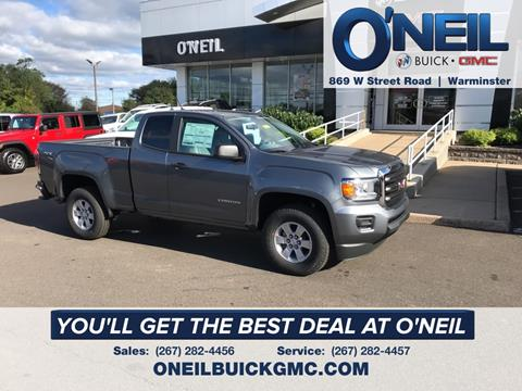 2019 GMC Canyon for sale in Warminster, PA