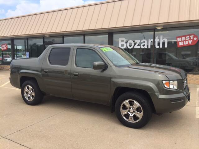 Attractive 2006 Honda Ridgeline For Sale At Bozarth Best Buy In Meriden KS