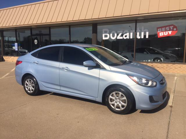 2013 hyundai accent gls in meriden ks bozarth best buy. Black Bedroom Furniture Sets. Home Design Ideas