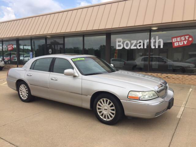 2003 Lincoln Town Car Signature In Meriden Ks Kansas Car Finder