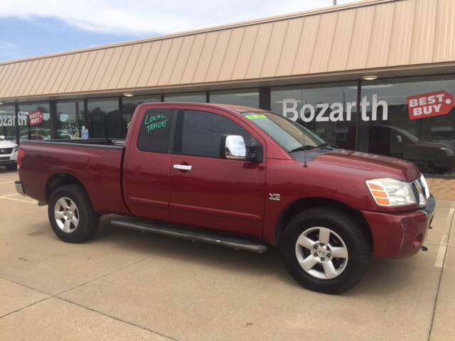 2004 nissan titan se in meriden ks bozarth best buy. Black Bedroom Furniture Sets. Home Design Ideas