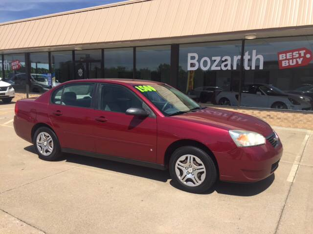 2007 Chevrolet Malibu For Sale At Bozarth Best Buy In Meriden KS