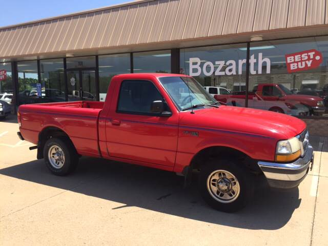 1998 ford ranger xlt in meriden ks bozarth best buy. Black Bedroom Furniture Sets. Home Design Ideas