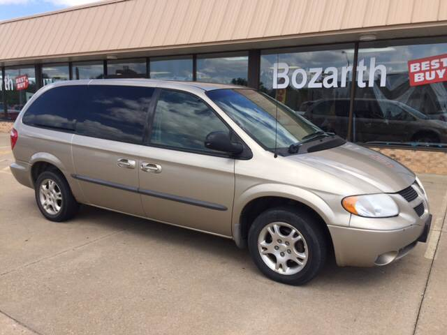 2002 dodge grand caravan sport in meriden ks bozarth. Black Bedroom Furniture Sets. Home Design Ideas
