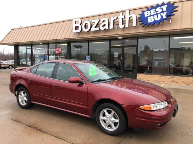 2001 Oldsmobile Alero Gl In Meriden Ks Bozarth Best Buy