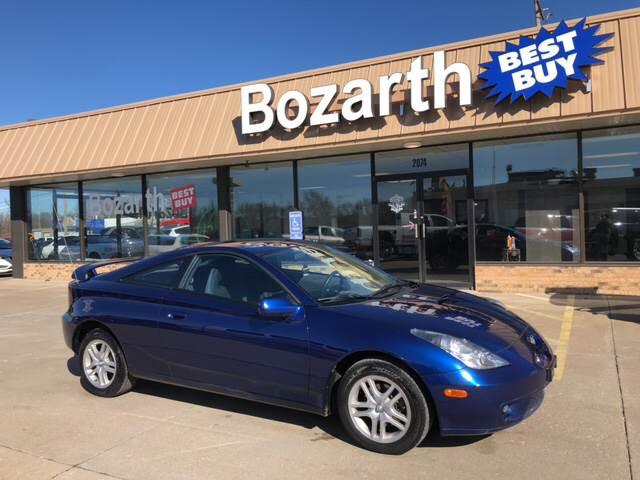 2002 Toyota Celica For Sale At Bozarth Best Buy In Meriden KS