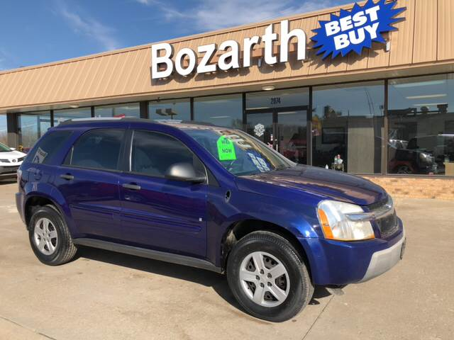 2006 Chevrolet Equinox For Sale At Bozarth Best Buy In Meriden KS