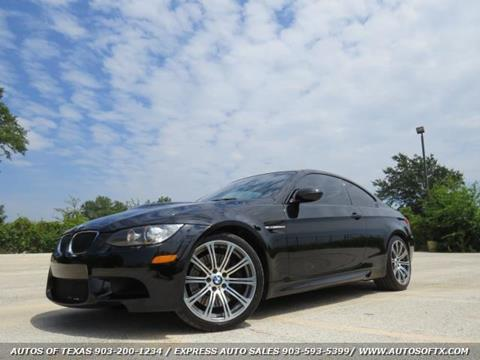 2012 BMW M3 for sale in Tyler, TX
