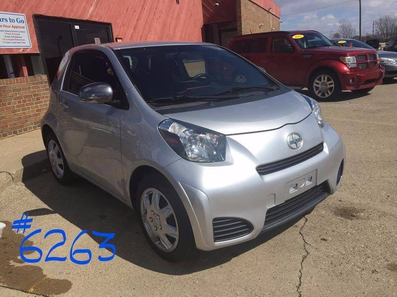 2012 Scion iQ for sale at Cars To Go in Lafayette IN