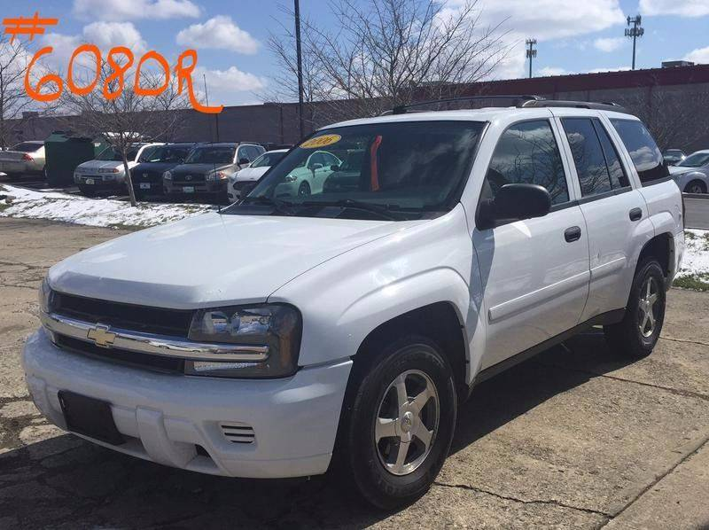 2006 Chevrolet TrailBlazer for sale at Cars To Go in Lafayette IN