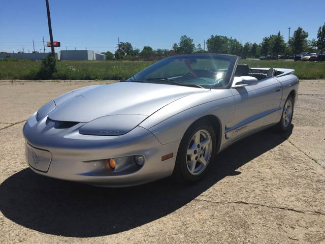 2002 Pontiac Firebird for sale at Cars To Go in Lafayette IN