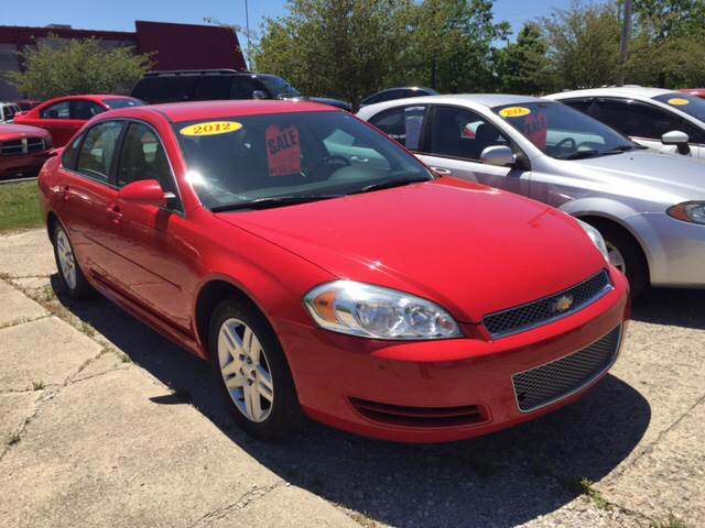2012 Chevrolet Impala for sale at Cars To Go in Lafayette IN