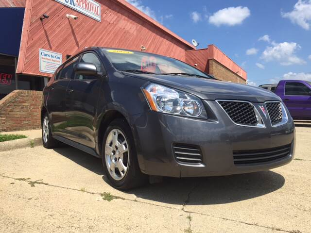 2009 Pontiac Vibe for sale at Cars To Go in Lafayette IN
