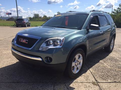 2010 GMC Acadia for sale at Cars To Go in Lafayette IN